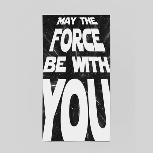 Бандана - May the force be with you